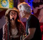 thia with dale watson in yellow rose
